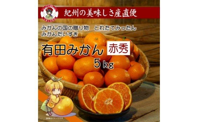 M6053_有田みかんだいすき赤秀 5kg
