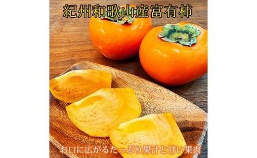 G91009_【先行予約】和歌山秋の味覚 富有柿 秀品 約2kg 化粧箱入