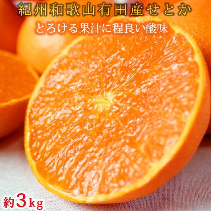 G6086_とろける食感!ジューシー柑橘 せとか 約3kg