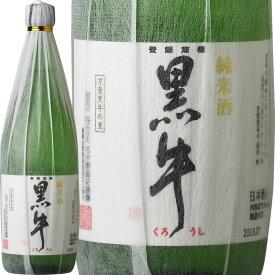 V6237_純米酒 黒牛(くろうし)720ml 6本セット 紀州和歌山の純米酒 日本酒 名手酒造(E009)