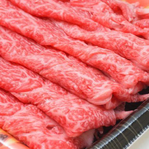 【ふるさと納税】【和歌山県特産和牛】《熊野牛》 極上モモ すき焼き・しゃぶしゃぶ用 250g A4ランク以上