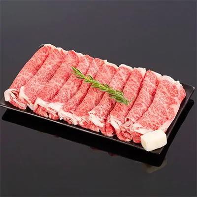 【ふるさと納税】【熊野牛】ロース・スライス すき焼き・しゃぶしゃぶ 約500g