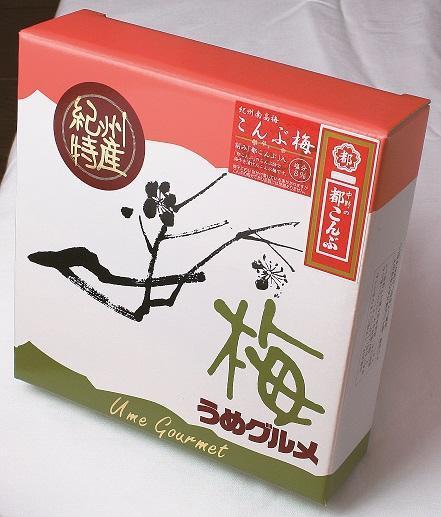 紀州南高梅こんぶ梅刻み「都こんぶ」入350g