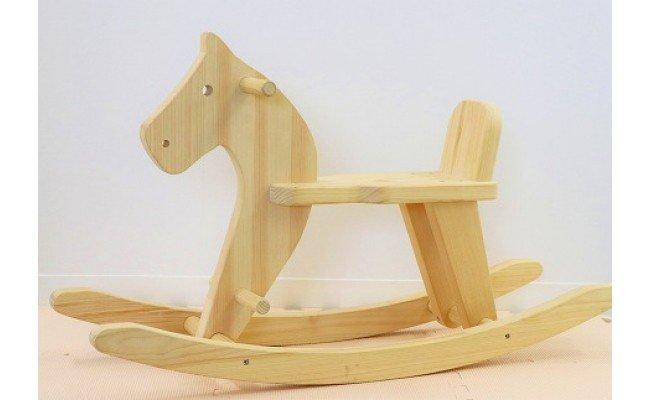檜のおもちゃ IKONIHアイコニー 木馬