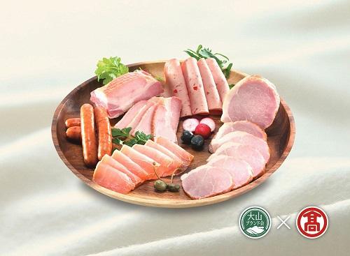 [定期便] 大山ハム食べ比べ 全3回コース 計13種類(大山ブランド会)髙島屋 50-A11 0539