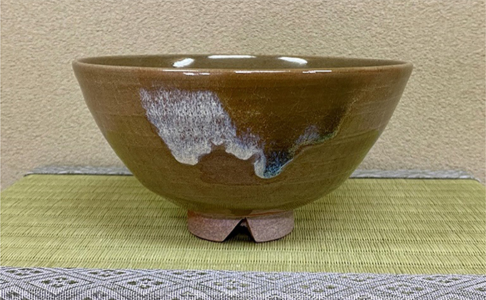窯変茶盌(黒井博史作)