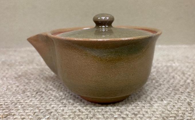 虫明焼 窯変 煎茶器 (曙窯作)