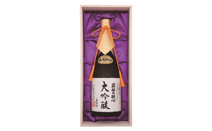 醉心山根本店「究極の醉心 大吟醸」ワイングラスでおいしい日本酒 720ml