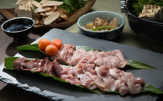 鮮度抜群の鶏肉と自家製の割り下が決め手、鶏肉専門店の「鳥すきセット(みはら神明鶏)」