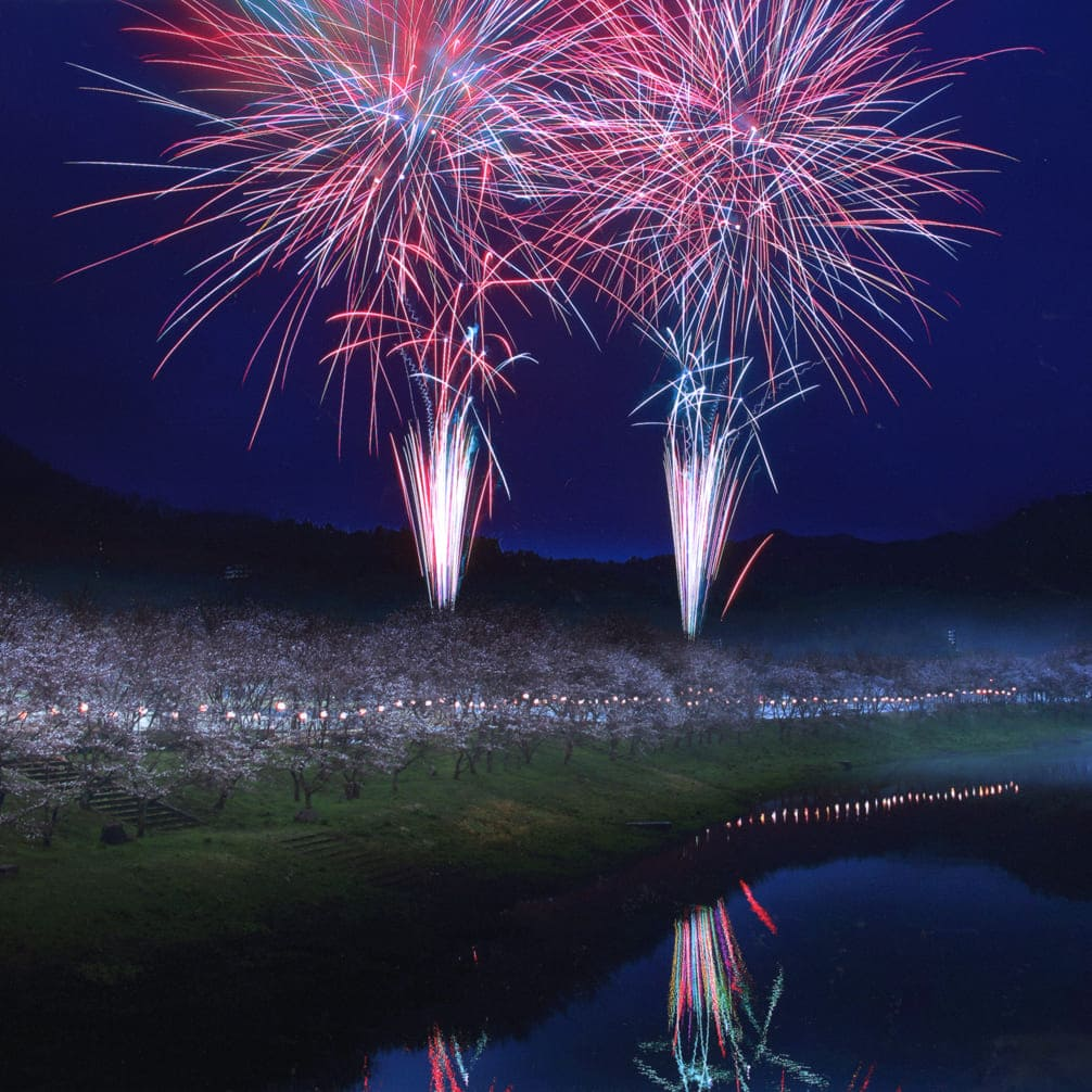 白竜湖花火