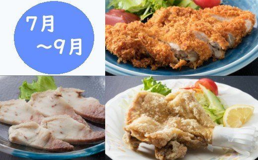 初音の定期便!!7月8月9月定期便【お二人様向け】