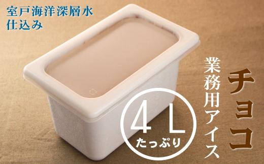 チョコ4L 業務用アイス
