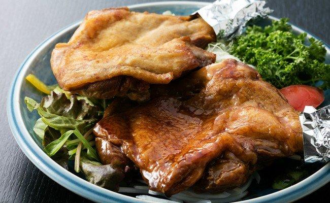 初音の鶏もも肉の塩焼き&たれ焼き【6本セット】