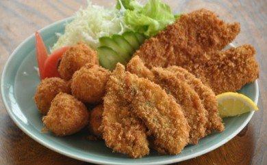 【四国一小さなまちの料理屋富士】特選揚げ物セット