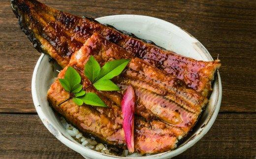 田野町産うなぎの蒲焼き2匹と天然鮎8匹セット