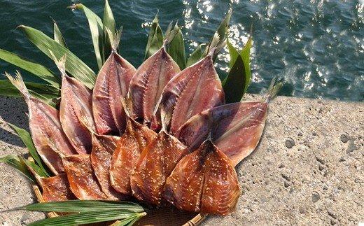 KA0264_宗像大島で獲れた「鮮魚の干物」の詰め合わせセット【10〜11枚】