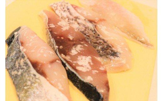 玄界灘直送!季節の魚の塩麹漬け【5種×3パック】_KA0458