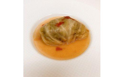 KA0156_自家製ロールキャベツ 2食・玄界灘魚ポタージュスープ2食
