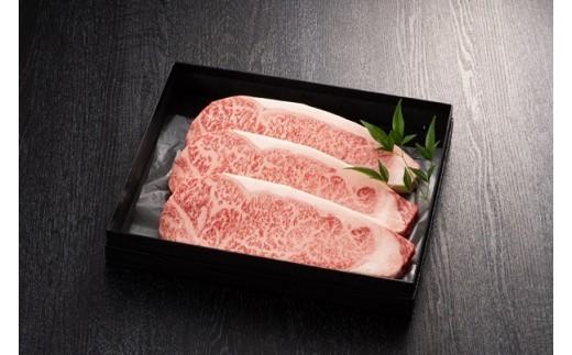 【#元気いただきますPJ特別支援品】博多和牛サーロインステーキ 200g×3枚(ジャポネソース付)_KA0517