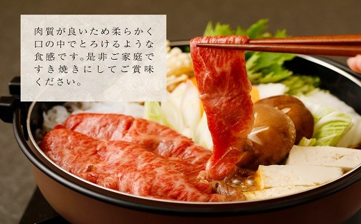 博多和牛 肩ロース しゃぶしゃぶ・すき焼き用【600g】㈱藤岡食品