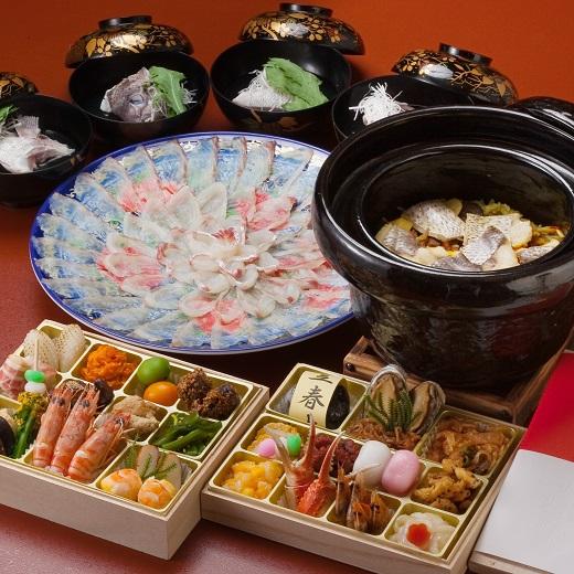 F031.日本料理てら岡・おもてなしセット(3~4人前)