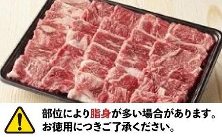 JB13.【定期便】博多和牛焼肉セット1キロ×12ヶ月