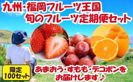 C047.予約受付【人気】九州・福岡フルーツ王国.旬のフルーツ定期便Gセット