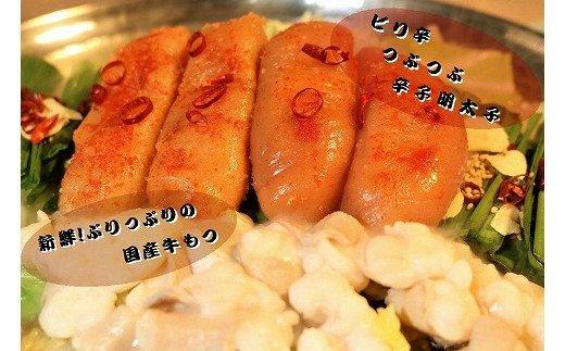 A743.【六蔵】博多明太もつ鍋セット(2~3人前)