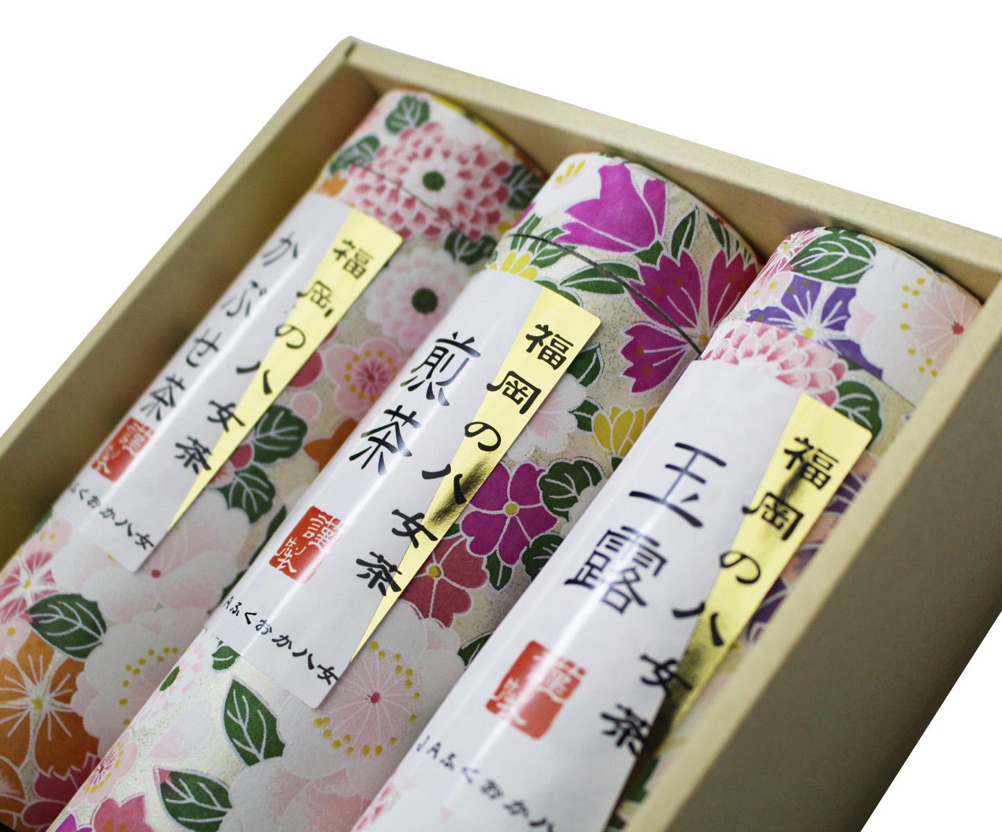 3CE3 福岡の八女茶詰合せ(東峰村)