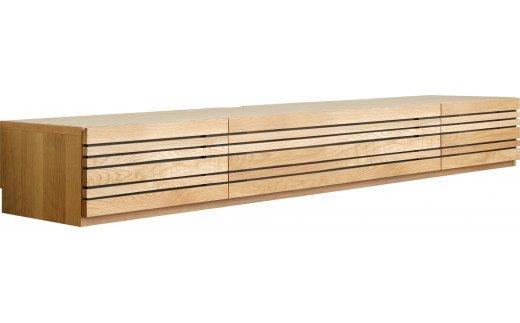 AL319【開梱・設置】テレビボード アクティフ240cm ナチュラル