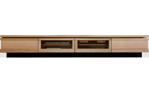AL320【開梱・設置】テレビボード ジオ テレビ240cm ナチュラル