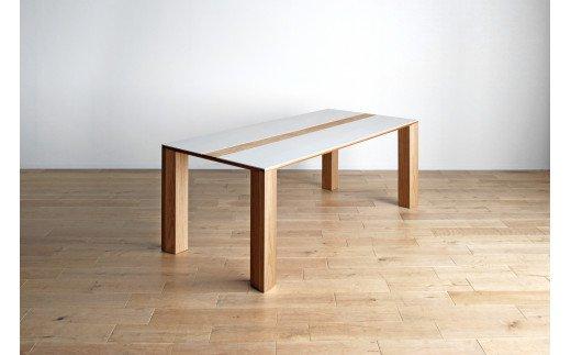 AL323【開梱・設置】セラミックテーブル バイソン テーブル210cm ON/CIF