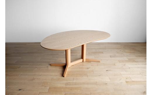 AL329【開梱・設置】ミラージュ テーブル140cm ナチュラル