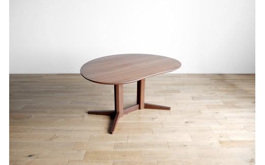 AL330【開梱・設置】ミラージュ テーブル140cm ブラウン