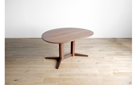 AL332【開梱・設置】ミラージュ テーブル180cm ブラウン