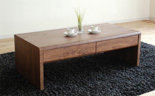 AL022【開梱・設置】リビングテーブル NEWベルグ リビングテーブル ブラウン
