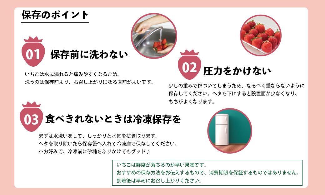 2TB2 【福岡県産あまおう】 グランデ等級 280g×4P(12月中旬~1月中旬発送)
