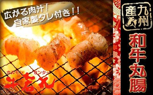 2B6 九州産和牛ぷりぷり丸腸(500g)と牛若丸自家製タレ付セット