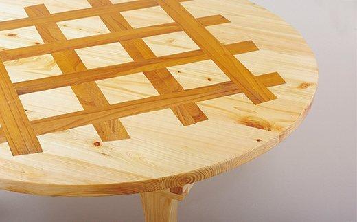 X705 佐世保産檜間伐材ちゃぶ台