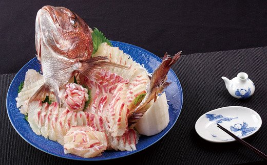R876 日本本土最西端の海で育った最高級真鯛