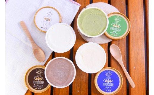 【小国郷特産ジャージー牛乳を使用!】アイスクリームセット(8個入り)