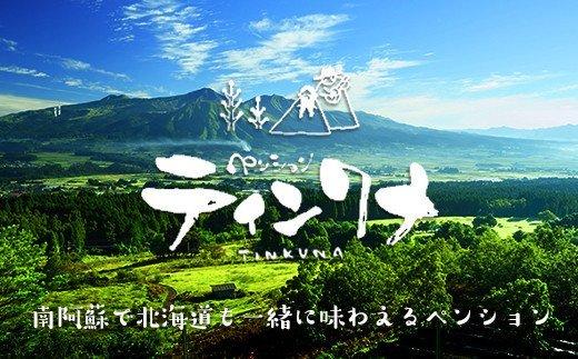 ペンションペンション北海道の輝き☆ティンクナ1泊2食付ペア宿泊券
