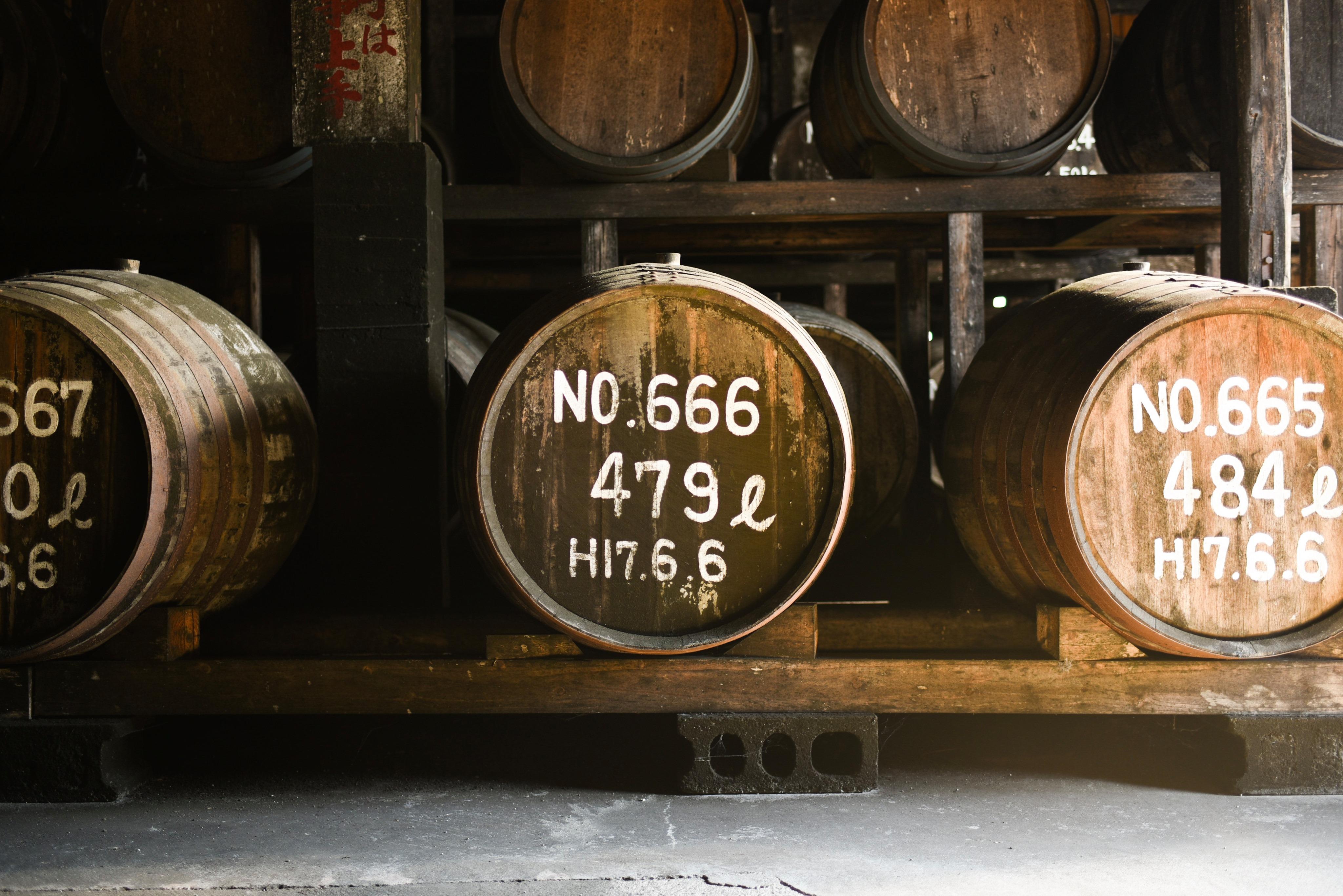 房の露の樽