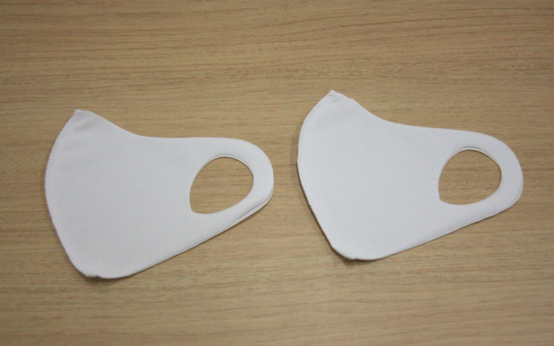 フィット感抜群!水着素材のクロッツマスク2枚  M(女性用サイズ)
