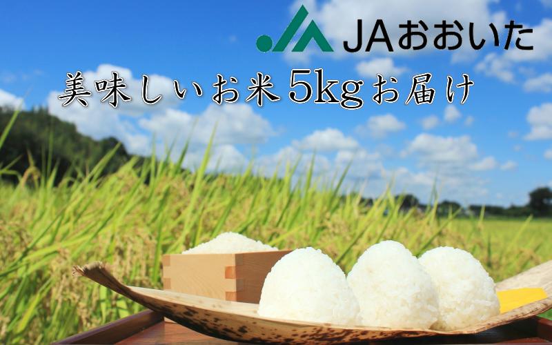 JA美味しいお米/5kg(ひとめぼれ)