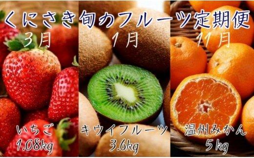 くにさき旬のフルーツ定期便※3回発送