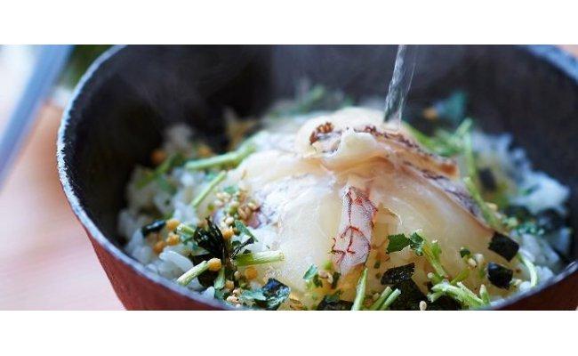 天然鯛の生茶漬け(8食分)・通