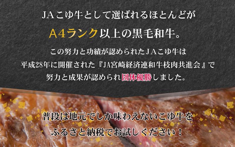 宮崎黒毛和牛<JAこゆ牛>すき焼き用(肩ロース)500g ※90日以内出荷【B127】