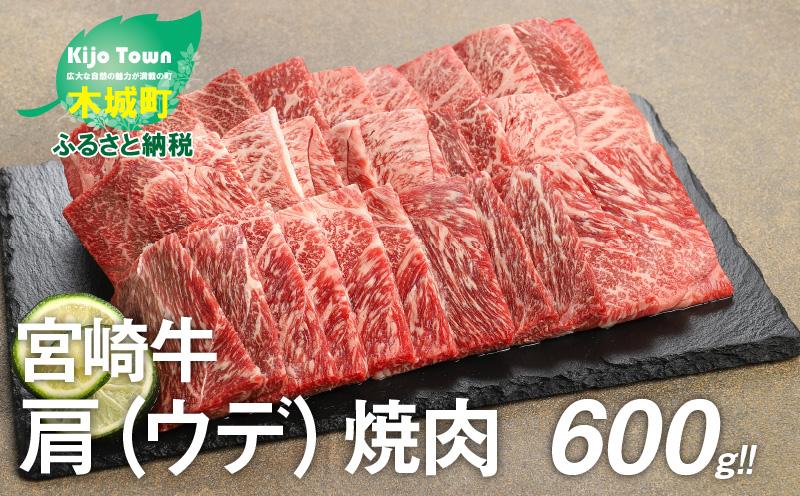 K18_0017<宮崎牛 肩(ウデ) 焼肉600g>