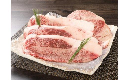 K03_0002 <宮崎県産黒毛和牛サーロインステーキ4枚セット600g>